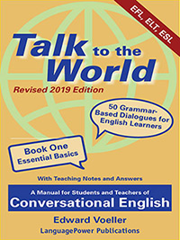 cover of book one Talk to the World