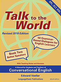 cover of book two Talk to the World