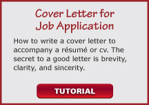 video cover letter