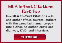 video mla in-text citations part two