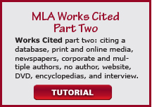 video mla works cited part two