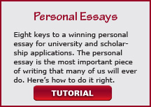 video personal essays